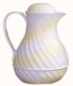 Insulated Pitcher (White)