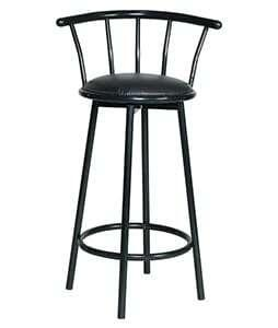 Bar Stool Hi-Back 1