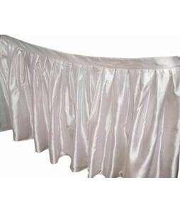 Table Skirt Sateen 13 foot 1